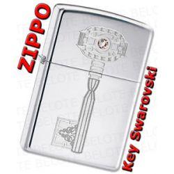 Zippo Swarovski Crystal Key Windproof Lighter 28184 New