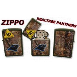 Zippo NFL Carolina Panthers Realtree Lighter 28106 New