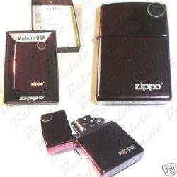 Zippo Abyss with Zippo Logo Purple Lighter 24747ZL New