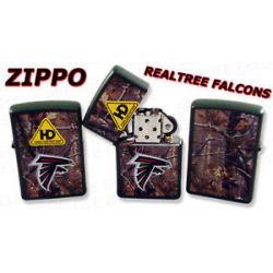 Zippo NFL Atlanta Falcons Realtree Lighter 28100 New