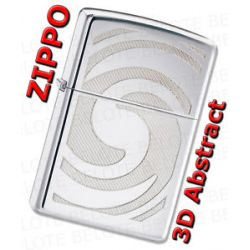 Zippo 3D Abstract High Polish Chrome Windproof Lighter 28286 New