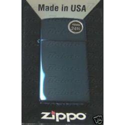 Zippo Sapphire Slim Lighter Model 20494 New in Box