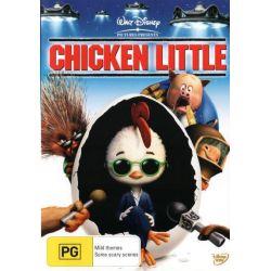 Chicken Little on DVD.