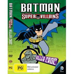 Batman Super Villains on DVD.