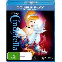 Cinderella (Blu-ray/DVD) on DVD.
