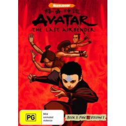 Avatar The Last Airbender on DVD.