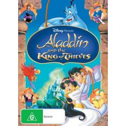 Aladdin and the King of Thieves on DVD.