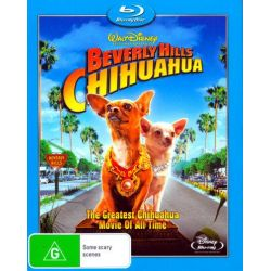 Beverly Hills Chihuahua on DVD.