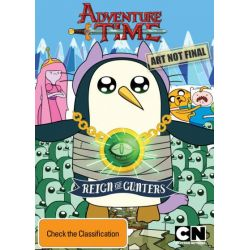Adventure Time (Collection 7) on DVD.