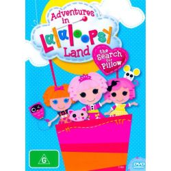 Adventures in Lalaloopsy Land on DVD.