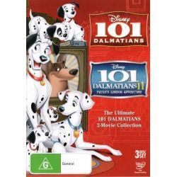 101 Dalmatians/101 Dalmatians 2 (3 Discs) on DVD.