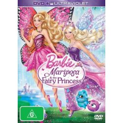 Barbie Mariposa and The Fairy Princess (DVD/UV) on DVD.
