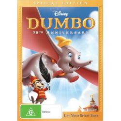 Dumbo on DVD.