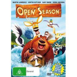 Open Season on DVD.