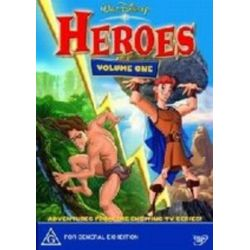 Disney Heroes on DVD.