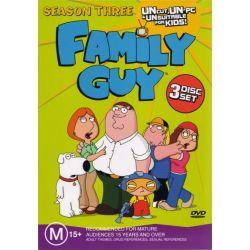 Family Guy on DVD.