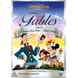 Disney Fables Volume 1 on DVD.