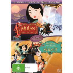 Mulan / Mulan 2 on DVD.
