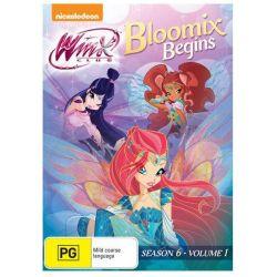 Winx Club on DVD.