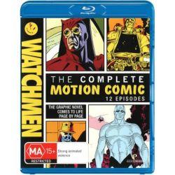 Watchmen on DVD.