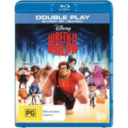 Wreck-It Ralph (3D Blu-ray/Blu-ray) on DVD.