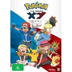 Pokemon on DVD.