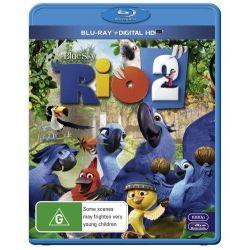 Rio 2 (Blu-ray/UV) on DVD.