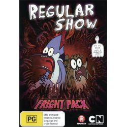 Regular Show on DVD.