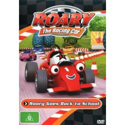 Roary The Racing Car - Roary Goes Back To School on DVD.