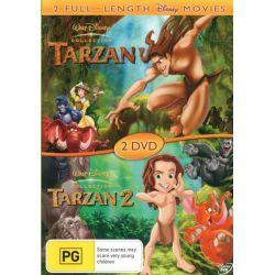 Tarzan / Tarzan 2 on DVD.