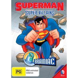 Superman Super Villains on DVD.