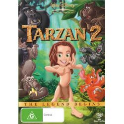 Tarzan 2 on DVD.