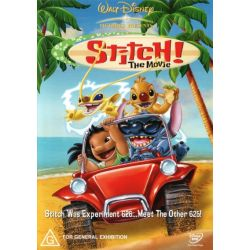 Stitch! The Movie on DVD.