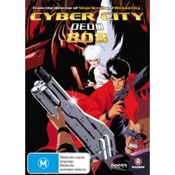 Cyber City Oedo 808 on DVD.