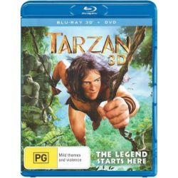 Tarzan on DVD.