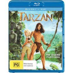 Tarzan (Blu-ray/DVD) (2013) on DVD.