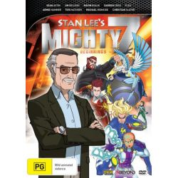 Stan Lee's Mighty 7 on DVD.