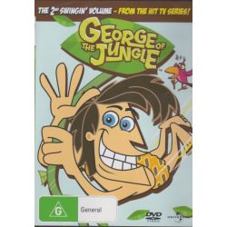 George of the Jungle on DVD.