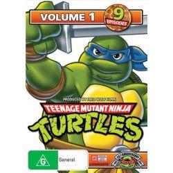 Teenage Mutant Ninja Turtles on DVD.