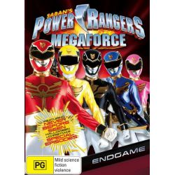 Power Rangers Megaforce on DVD.