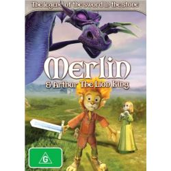 Merlin and Arthur the Lion King on DVD.