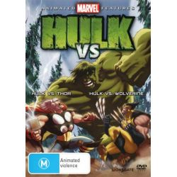 Hulk Vs. Thor / Hulk Vs. Wolverine on DVD.