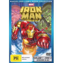 Marvel - Iron Man on DVD.
