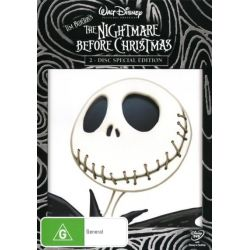 The Nightmare Before Christmas on DVD.
