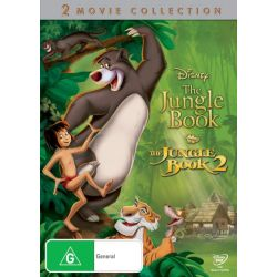 The Jungle Book and The Jungle Book 2 on DVD.