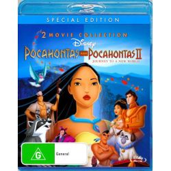 Pocahontas / Pocahontas II (1 Disc) on DVD.