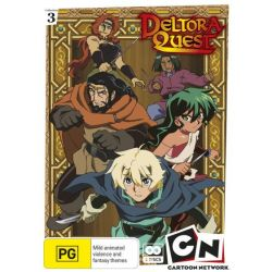 Deltora Quest on DVD.