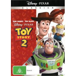 Toy Story 2 on DVD.