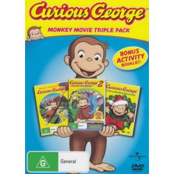 Curious George / Curious George 2 on DVD.