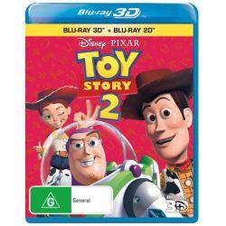Toy Story 2 (3D BD/BD) on DVD.